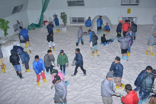 Never Too Late To Play Like Kid When You're in Snow Park Goa. Feel Like Freeze.