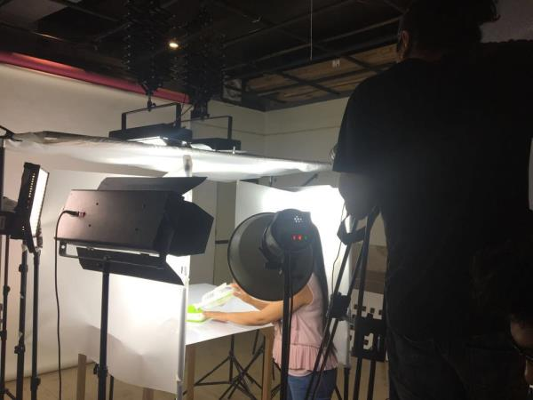 Amway Product film shoot