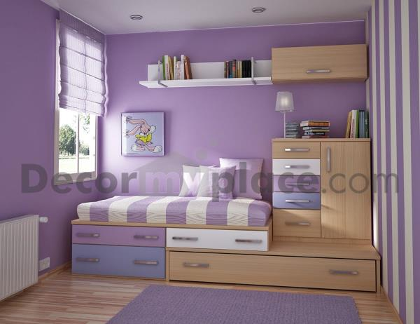 get inspired with decormyplace.com unique bedroom decorating ideas for kids bedrooms. We have exclusive collection of wallpapers, laminates and wardrobe fittings considering Kids requirements.