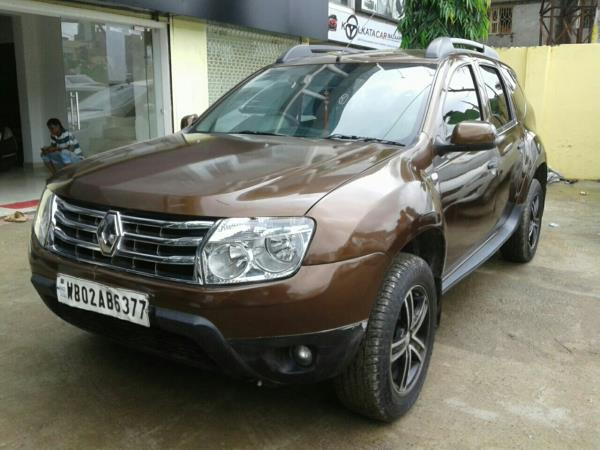Renault Duster 49391kms mileage diesel  brown colour now in our showroom kolkata carbazaar
