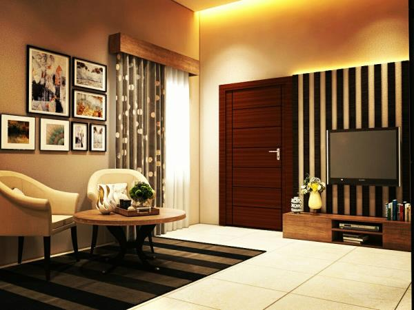 LCD unit design and sitting area in bedroom also need as much detailing as back wall of bed. Kalky interior provides you bestinterior design solution in Delhi-NCR.