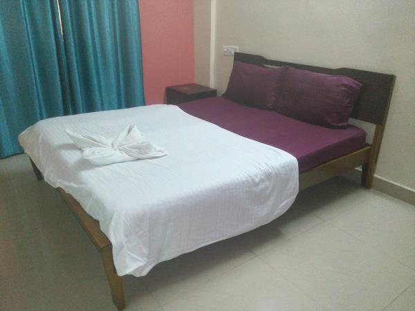 Rental 2 BHK Service Apartment In Bellandur  A/C and Non A/C Rooms with Fully Furnished  Unlimited WiFi, Complementary Breakfast