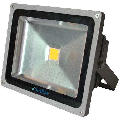 An LED FLOOD LIGHT is a source of bright white light, which it beams out at a very broad angle. LED FLOOD LIGHT are in use in many areas such as warehouse, perimeters of houses, theatre, playgrounds and stadiums. These LED FLOOD LIGHT have several benefits to offer users, especially when compared to standard incandescent, CFL or halogen lights. Select from a large choice of LED Flood Lights for your particular needs and environment. StaRay Flood lights model comes from 10W to 150W with IP 65 & IP 68 fixture and weather proof construction make them perfect solution for Industrial and outdoor applications. Applications : Industrial shades, Outdoor, Playing fields, shows & concerts e.t.c.  Product Specification Housing : Aluminum Wattage : 20W, 30W, 50W & 100W Life Span : 50, 000 hrs. Repairable, Short payback period, Long life, low maintenance