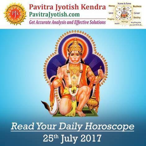 #DailyHoroscope #DailyAstrology Read your daily horoscope for 25th July 2017 http://www.pavitrajyotish.com/daily-horoscope/ #PavitraJyotish #DailyPrediction #FreeHoroscope #Today_Horoscope #ZodiacSign #SunSign