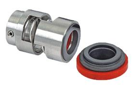 Textile Mechanical Seal (LIE/712): We are one of the leading manufacturers and suppliers of textile mechanical seals. The textile mechanical seals are widely used in textile plants. The textile mechanical seals are non-clogging and self cleaning which make them suitable for use in various applications. The common retainer comprises of spring, Rotary seals face and secondary packing.