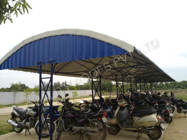 Residential Terrace Roofing In Chennai    We are undertaking all kinds of Residential Terrace Roofing In Chennai. These sheds are widely demanded and appreciated for their excellent finish, dimensional accuracy, zero maintenance, and rigid construction. Our adroit professionals design the product with precision by utilizing the latest technology and high-grade components which are in compliance with the industrial standards. Moreover, clients can get these at affordable rates. We are offered Roofing Sheet Price In Chennai.