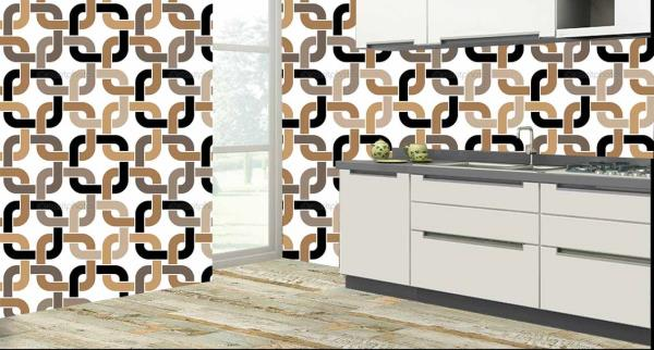 Enrich the walls of your kitchen with this superb 3D customized Kitchen Wall Tiles. These Kitchen Tiles can be used to decorate the walls of your kitchen. These 3D Kitchen Tiles will give a classic look to your kitchen. The best feature about these Kitchen Tiles is that they are super easy to clean and are 100% water proof and heat resistant.   We are the only Ceramic Tile Dealers who can customize the design of the tiles as per your wish and requirement.   We are the only Vitrified Tile Dealers in entire Hyderabad to provide you with these new and excellent 3D Kitchen Tiles.