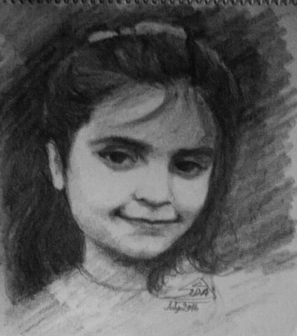 Pencil work on paper  Buy original paintings Gurgaon
