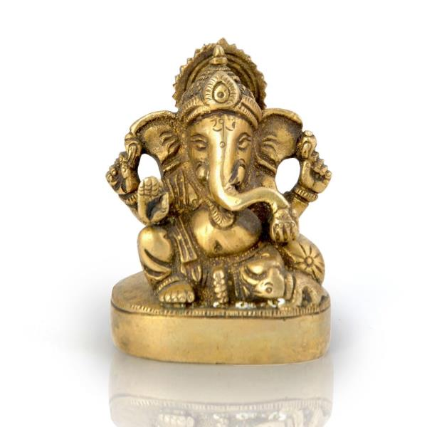 Buy Real Brass Antique Lord Ganesha Beautiful Idol Online in Allahabad  This handcrafted antique idol of Lord Ganesha is made of pure brass. The idol is polished golden to give it an alluring antique look. The gift piece has been prepared by the creative artisans of Jaipur.  Click on the below link to view the product:  http://littleindia.co.in/real-brass-antique-lord-ganesha-beautiful-idol-356/p401