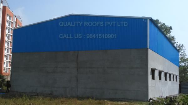 Industrial Roofing Contractors Chennai    We are the leading Industrial Roofing Contractors Chennai. These sheds are appreciated for their longer functional life and weather resistance. We use modern tools and advance technology to fabricate these sheds in strict compliance with international norms and standards. Customer can facilitate the facility of customization from us to get the desired sheds of their choice.  We are the best Terrace Roofing Solution In Chennai. we are offered Sandwich Puf Panel Roofing Chennai.
