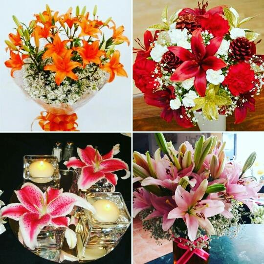 Lily and lilies everywhere! The emblem of beauty and purity takes your gifting style up a notch. Send lilies to your loved ones.  We are running an offer this August! Free delivery in Kanpur if you order a flower bouquet from our Facebook page at https://goo.gl/RQt6Pp