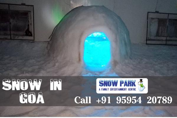 Bored With Routine Life ??? Wanna Do Something Special, Snow Park Goa Is Place For You Where You Can Enjoy Real Snow, Snow Igloos And Sculpture, Ice Bar Full of Snow, Slide on Ice And Many More Thing... Visit Now or Call us At +92-9595420781