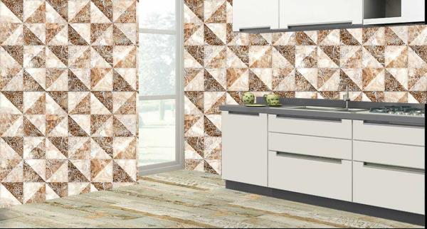 Impart a royal look to the walls of your kitchen with this superb 3D customized Kitchen Wall Tiles. These Kitchen Tiles can be used to decorate the walls of your kitchen. These 3D Kitchen Tiles will give a classic look to your kitchen. The best feature about these Kitchen Tiles is that they are super easy to clean and are 100% water proof and heat resistant.   We are the only Ceramic Tile Dealers who can customize the design of the tiles as per your wish and requirement.   We are the only Vitrified Tile Dealers in entire Hyderabad to provide you with these new and excellent 3D Kitchen Tiles.