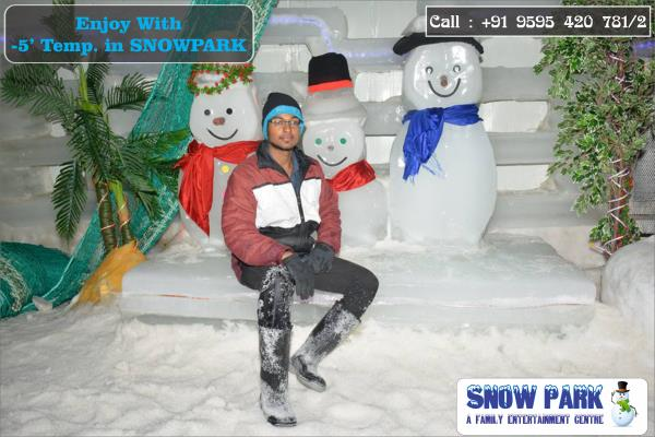 Enjoy With Zero Temp. Only At Snow Park Goa, Feel The Freeze