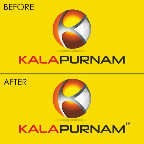 kalapurnam - Trademark  In corporate world, we use the team Trademark which means any name, symbol, letter, logo, figure, word, mark, product, signature, brand name, slogans, etc. These have their own identity. Same way