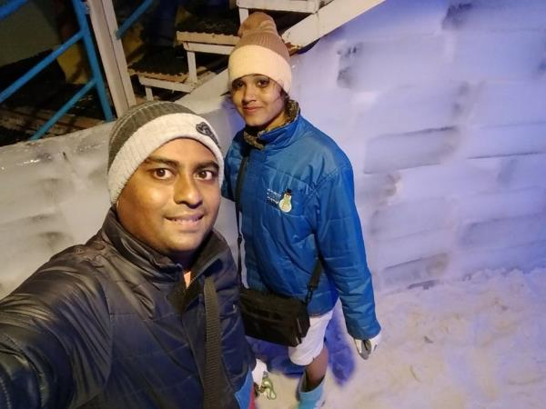 Perfect Place For Everyone Called as Snow Park Goa. Do not Late To Visit A Theme park With Full Of Snow And Ice Bar In Goa.