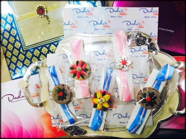 What's trending this RakshaBandhan ? EDIBLE RAKHI !! Where? Dadus Sweets Emporio, Pune (one of the Best Sweet Shops In Pune?