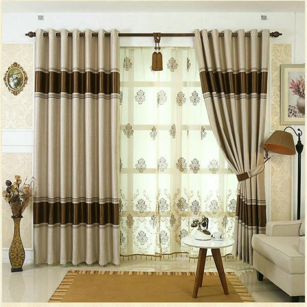 Looking for Two shaded curtains Three shaded curtains Matching ...