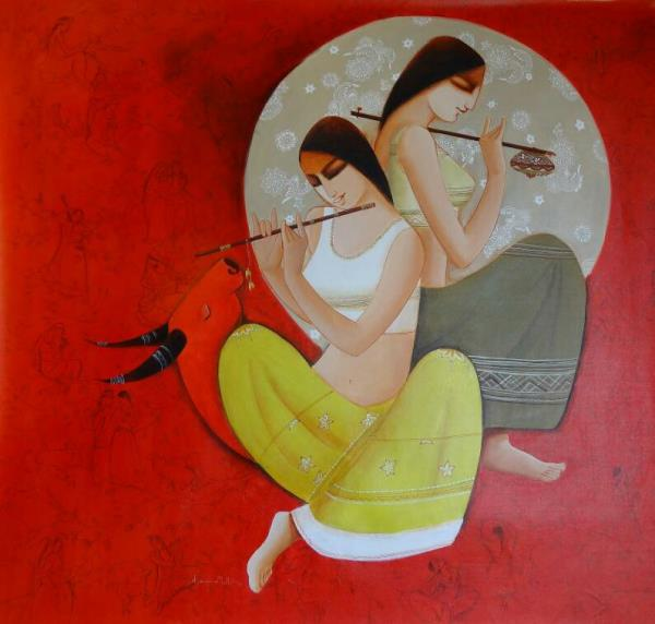 Buy original painting At Uchaan Art Gallery  Gurugram