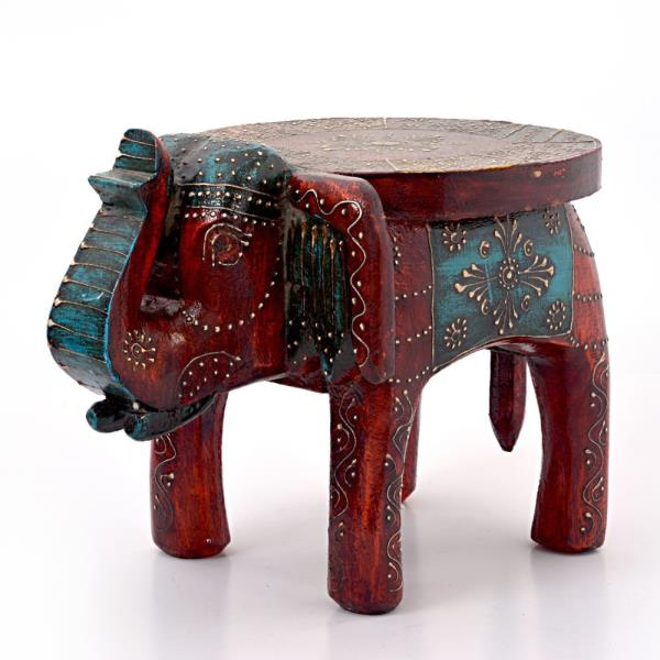 Buy Designer Wooden Elephant Stool Handicraft Gift Online in Alwar  This Hand Carved Elephant Stool is made of mango wood and displaying your artefacts. Pretty and practical, this piece is made using solid reclaimed wood. The gift piece has been prepared by the master artisans of Jaipur.  This utility item can be used as a show-piece in your drawing room. It is also an ideal gift for your friends and relatives.  Click on the below link to view the product:  http://littleindia.co.in/designer-wooden-elephant-stool-handicraft-gift-304/p677