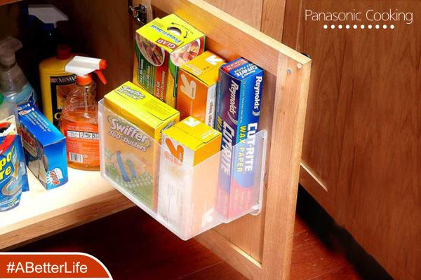 Do It Yourself  Every kitchen comes with its own vast collection of cleaning and maintenance products, which clutter the spaces they are stored in. By repurposing an old container, you can create the perfect solution for all your boxes of c - by 21 Times Better, Chennai