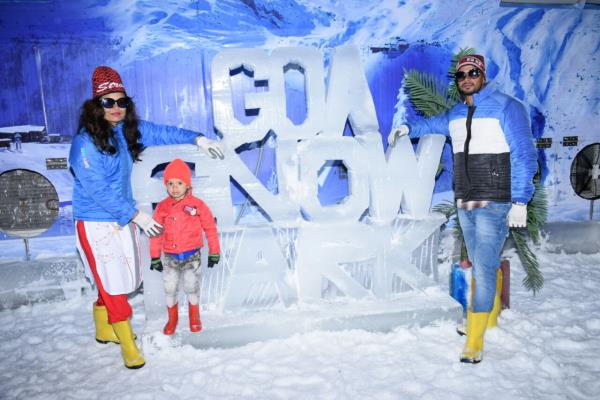 We are opened With New Adventure Activities and Huge Change in Look, You Can Enjoy Goa With #Snow & Thunder.  Visit Snow Park Goa.