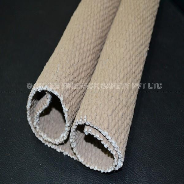Shree Firepack Safety Pvt. Ltd. Fiber glass fabrics (Vermiculite Coated Ceramic Cloth) are capable of withstanding temperatures of 1000C for short periods and make an ideal material for fire barriers, welding curtains, valve covers and high temperature gloves making. for more info visit : http://www.shreefirepacksafety.com/dhaka/vermiculite-coated-ceramic-fiber-cloth.html
