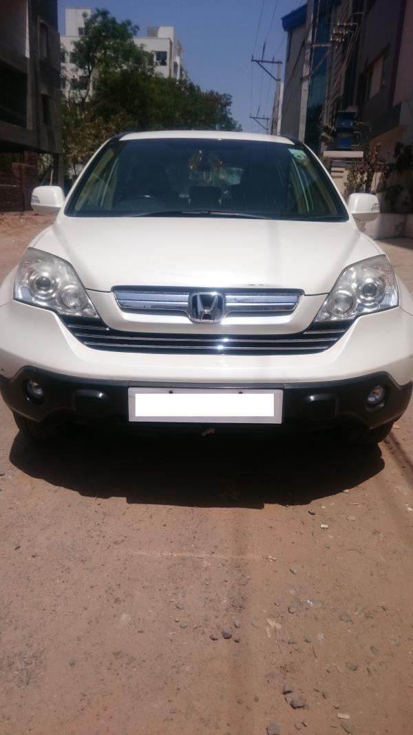 Used Honda CR-V for sale in Hyderabad:  2008 Honda CR-V 2.4 MT 1, 13, 000 km done Insurance valid till Sep 2017 Asking price: 5.25 lakhs  Wheel Deal Top Quality Pre-Owned Cars  - by Wheel Deal, Hyderabad