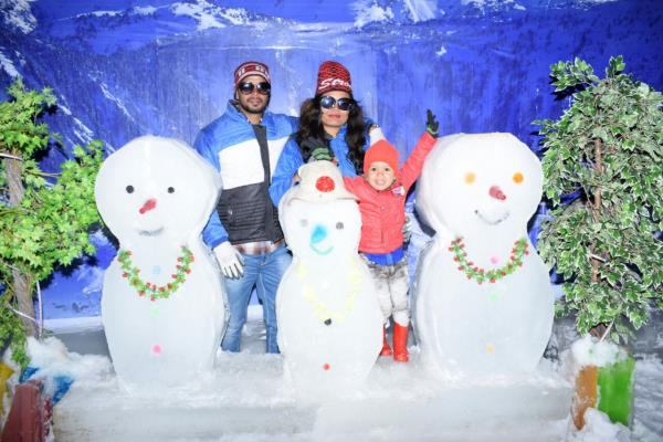 Good Time, Crazy Family At Snow Park Goa Make Perfect Memories...