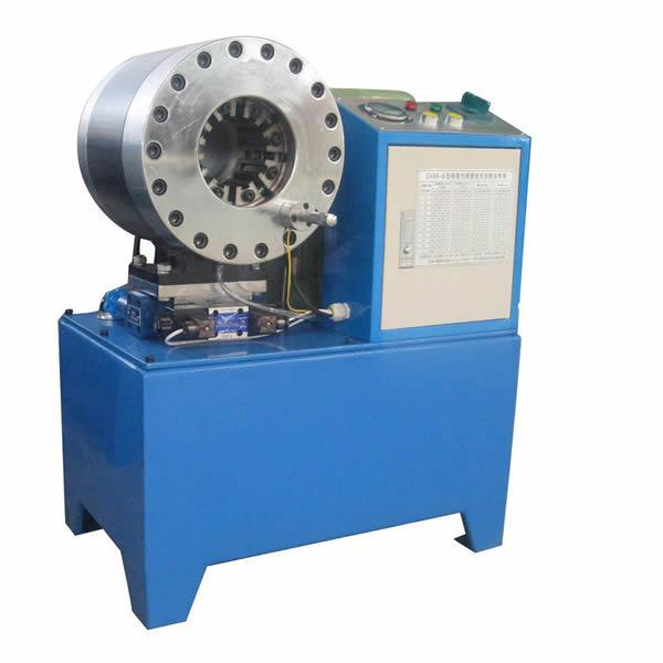 es Delhi our best selling product hydraulic hose crimping machines used for repair of  high pressure rubber hose used in JCB model MHC-2