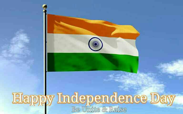 Wish each and everyone a very happy Independence day. Be Unite and Raise - bagsnbags.com manufacturers of Handmade paper bags and paper products