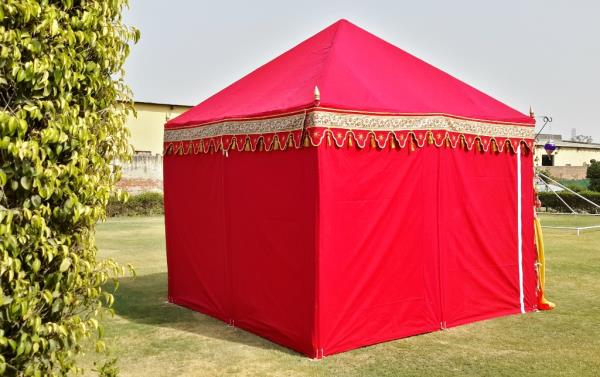 Red Wedding Tents  R