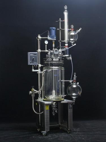 Senco Glass reactors are developed by sticking to the basics, keeping in mind safety of the user and focusing on giving desired results. They enable to achieve desired results affordably and are backed by trustworthy service. The Cap Style reactor is simple yet accurate, basic yet precise, up to the mark on performance and friendly on budget.    These Jacketed Reactors are used for a variety of applications including:  · Common Chemical Reactions Liquid/Liquid, Liquid/Solid  · Distillations  · Reflux Boiling  · Azeotropic Distillation (Phase Separation)  · Evaporation to any desired consistency  · Multi-component Reactions  · Gas dispersion below liquid surface  · Crystallization  · Mixing  · And many more….    OPERATION   Necks on Flask Cap  Charging Neck F40– Pure charge process without gel pollution.  Thermometer Neck F40– Digital Thermometer for direct temperature measurement.  Condenser Neck S51– Ball joint connection, easy to assemble with less vibration.  Drip System Neck F40 – Dripping system for adding solvents.  Solid Feeding Neck F60/F80 – For addition of any solids during reaction  Stirring Neck F60/F95 – For stirring  Spare Neck F40 – For any other user desired function.    Vacuum Sealing system  Specially designed and precisely manufactured Anti-corrosion and Wearable Sealing Systems in these Jacketed reactors enables to reach ultimate vacuum rates of less than 3 Torr. High quality material leads to longer seal life and hence about 90% of the users did not replace the seal in one year.   .    Mirror Polished Flange Processing Technique  SENCO glass flanges applies fine cold polish technique, which guarantees pressure tightness in static joint connections.    Flange Quick Press Ring  One-piece quick clip design eliminates dead seizures in glass joints. Offer new experience on easy, reliable and high sealing connection for flanges (no tools required).      PTFE Bottom Side Discharge Valve  No dead angle, air isolated discharge. Preload discharge valve is able to decrease flask crack risk due to improper over-screwing of discharge valve. Zero dead volume, No-sample accumulation in valve during operation and discharge. Maximum drift diameter is Ø22mm for 10L and 20L reactor and Ø32mm for 50L reactor.