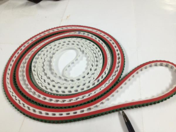 Techno Ferrari Belts. Used in Ceramic industry.