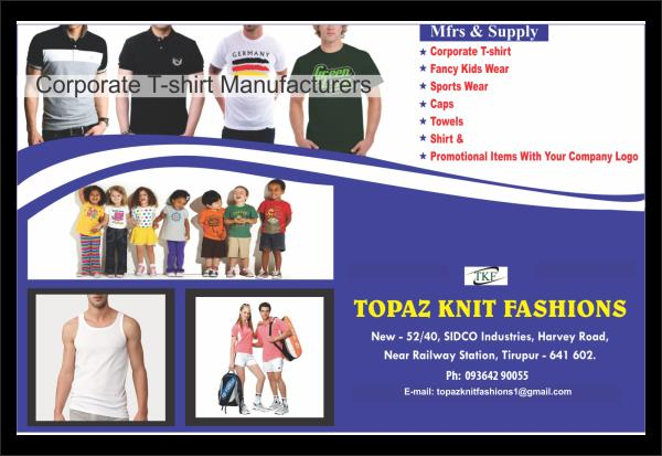 T-shirts Manufacture