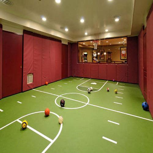 Indoor Sports Floor  We Sundek Sports Systems are manufacturers of Indoor Sports Floor in Mumbai.  As well as in India. We are leading manufacturers of indoor sports courts. Our specialization lies in meeting the laying requirements of squash courts, badminton courts, multipurpose halls, aerobic halls and basketball courts.  Features:  Easy to maintain Easy clean and wipe Excellent finish