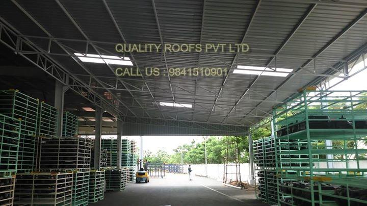 Roofing Manufactures In Chennai    We are the Chennai's No.1 Roofing Manufactures. These completely Prefabricated Roof Top Shed can be availed in standard and customized form as per the technical specifications provided by the clients. We are the best Roofers In Chennai. For more info visit us at http://qualityroofs.in/bizFloat/5997dd73c70a3e0bc4e7658e/Roofing-Manufactures-In-Chennai-We-are-the-Chennai-s-No-1-Roofing-Manufactures-These-completely-Prefabricated-Roof-Top-Shed-can-be-availed-in-standard-and-customized-form-as-per-the-technical-specifications-provid
