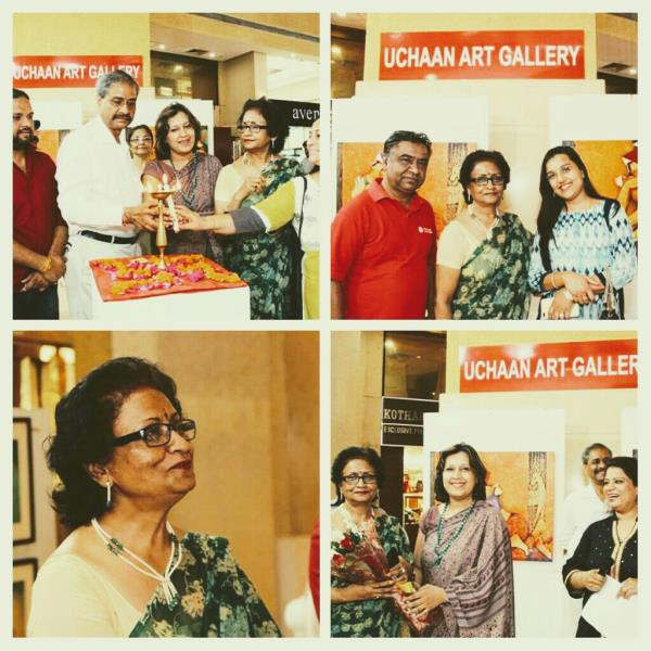 A Group exhibition of Original paintings at Uchaan Art Gallery, Gurgaon Buy on line