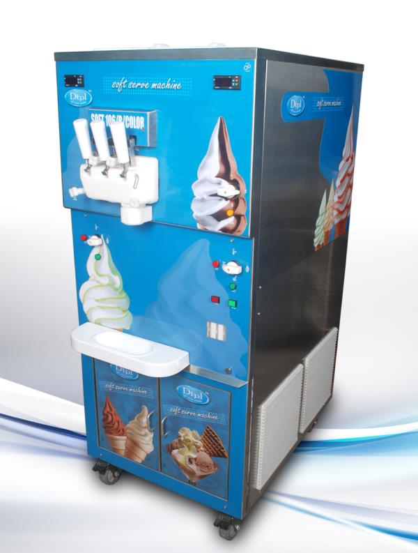 Devi Technocraft Pvt. Ltd., Ahmedabad manufacturer of Ripple Base Softy Ice Cream Machine