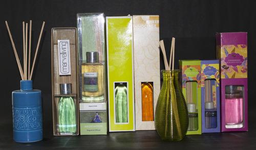 Scented Reed Diffusers  We are offering an exceptional range of Scented Reed Diffusers to our prestigious clients. Offered collection is manufactured using optimum quality raw material with utmost accuracy.