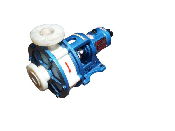 MANUFACTURER OF PP INJECTION MOULDED CENTRIFUGAL PUMP.
