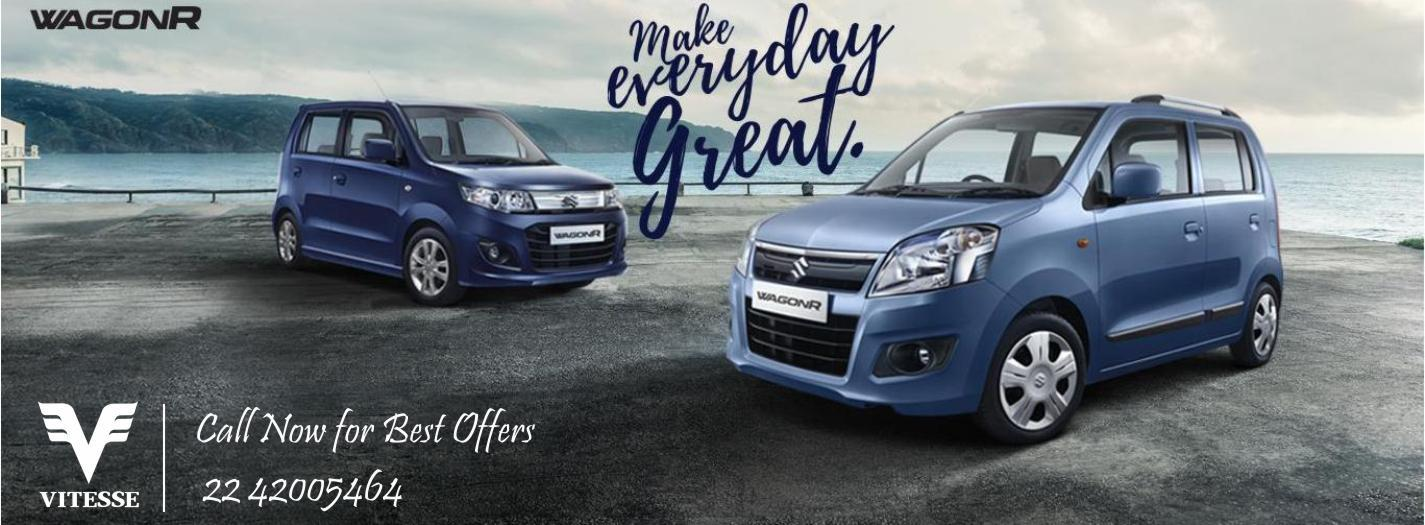 Get the Best Deals on your DREAM CARS. Maruti Vitesse welcomes you for a test drive.