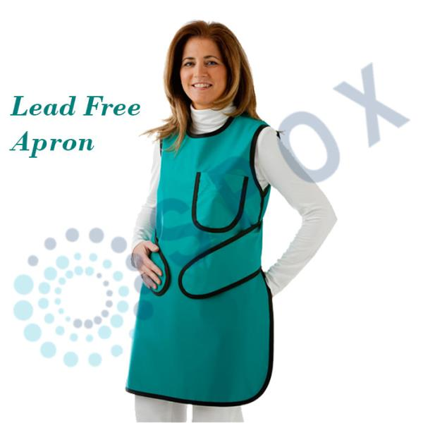 Radiation Lead Free Protection Apron X-ray Basic Light Weight Brand New 0 35mm    An eco friendly Aparrel that replaces lead with the significantly lighter substance which provides the same protection as the leaded sheeting. It is of lighter weight and the real advantage in using lead free material is that it is not hazardous to the environment such a s lead.  Buy this from :  http://www.ebay.com/itm/122663998549