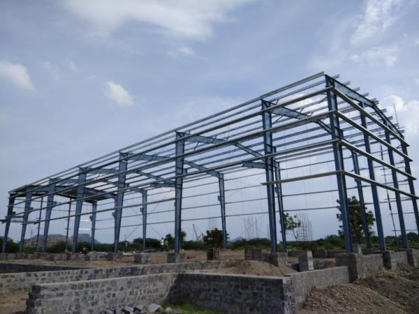 Most steel construction i