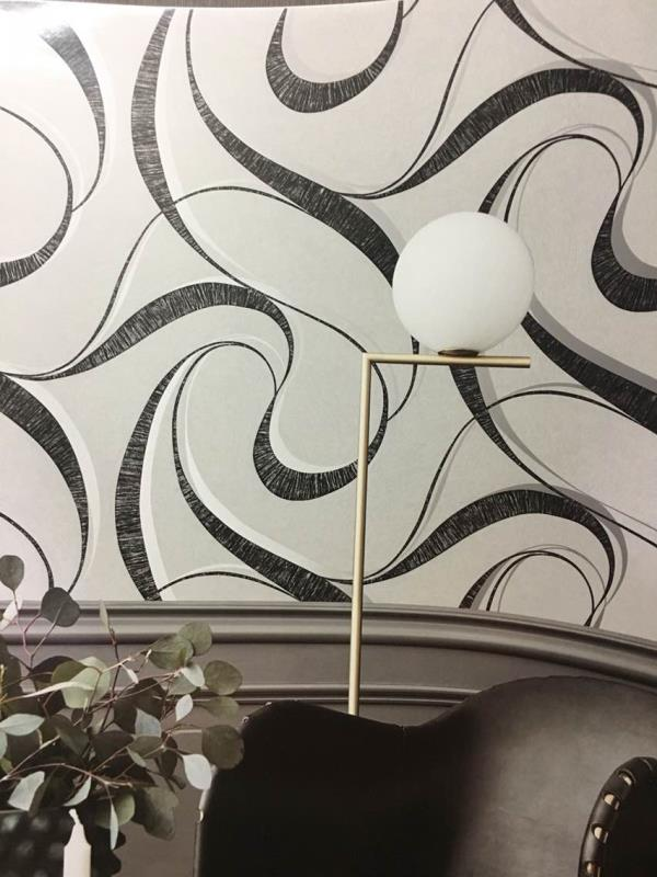 Best Imported Wallpaper Dealers in Delhi.   A Abstract Imported Wallpaper in Black & White wallpapers from Non Woven Life Wallpapers.   A Ribbon Design for your Luxuries Apparent in Black and white.   A Wallpaper from Life Imported wallpaper.  Code is - l1020301.   A Wallpaper Dealers in Delhi.   To buy call us  Wallparadise- Life Imported Wallpaper supplier in Hyderabad also.
