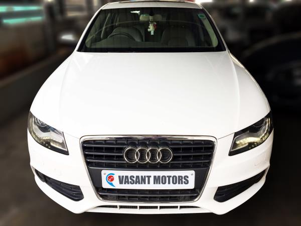 AUDI A4 2.0 TDI MULTITRONIC BSIV, (IBIS WHITE COLOR, DIESEL) 2011 model done only 54, 000kms in absolute mint condition... buy now and get one year #service pack from us. For further info call 7569696666