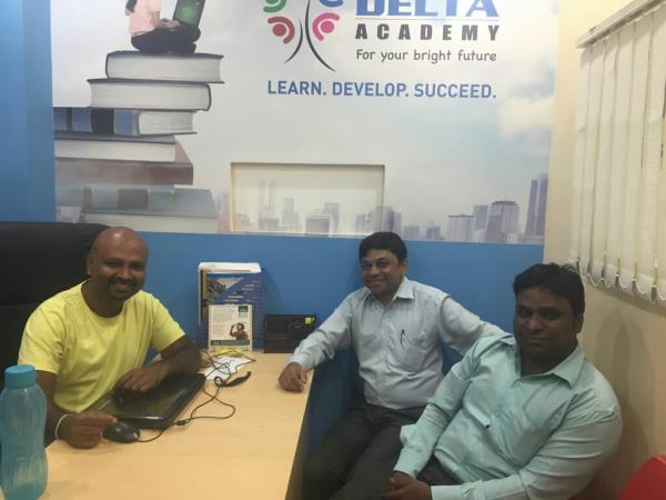 with My Friend and CEO #Delta Academy, Discussion On Digital Marketing From  #Nexusinfo
