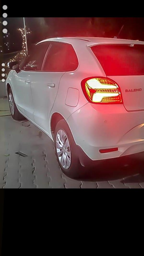 ancy tail lamps now in store....led tail lamps#baleno#modified#lights modifications@hyderabad.