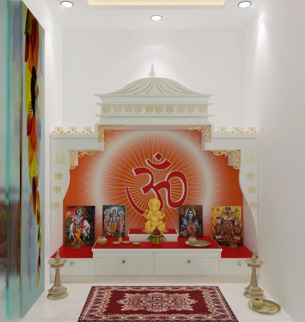 best pooja room Atelier Architecture Design in DelhiIndia
