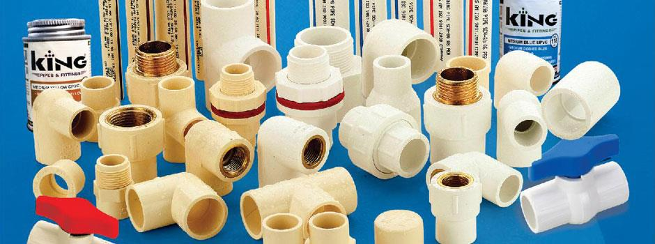 Top grade raw materials king pipes and fittings in for Best pipes for plumbing